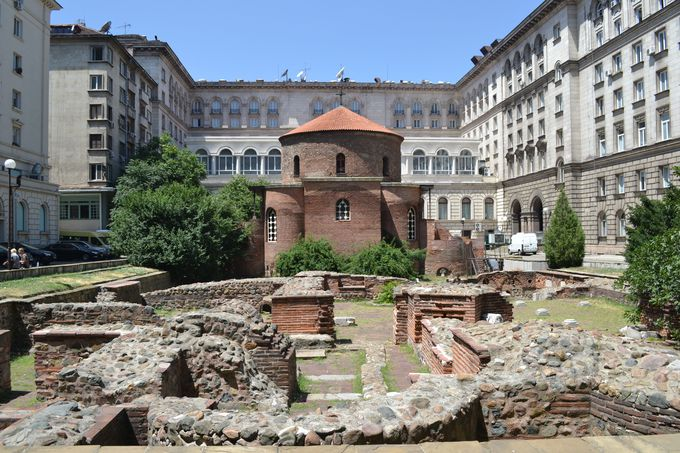 ソフィア最古の教会!聖ゲオルギ教会