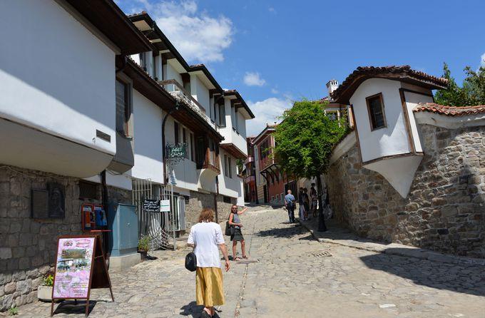 美しい旧市街の町並み