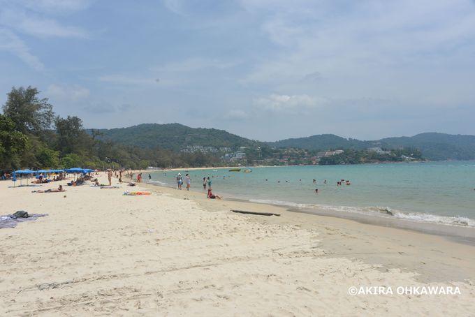 砂が最も白い!?カタビーチ