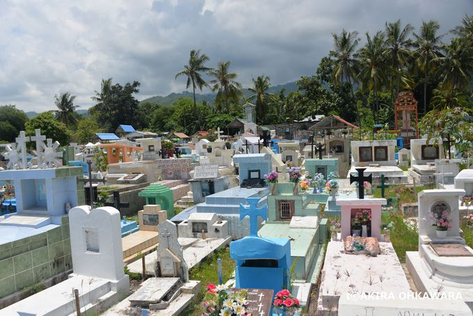 サンタクルス事件現場の現場となった「サンタクルス墓地」