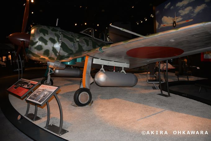 第一次&第二次世界大戦時使用の各国の戦闘機展示室