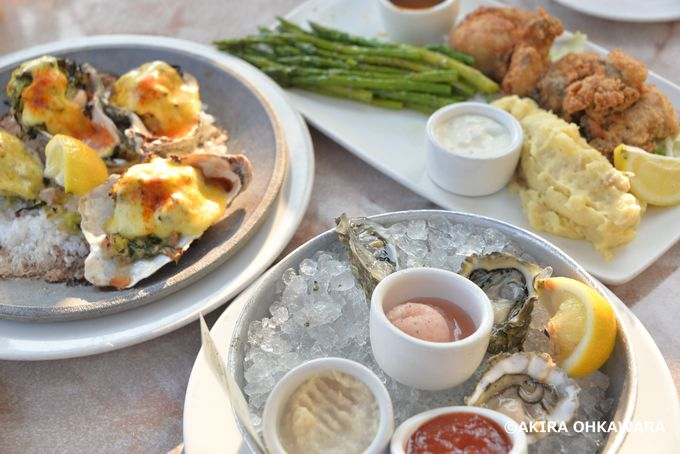 牡蠣料理満喫!お薦めレストラン「エリオット・オイスターハウス」