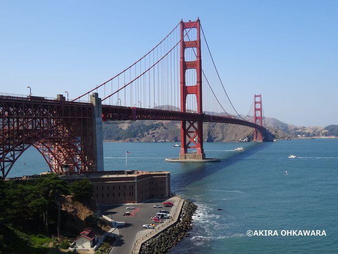 サンフランシスコの象徴!ゴールデンゲートブリッジ