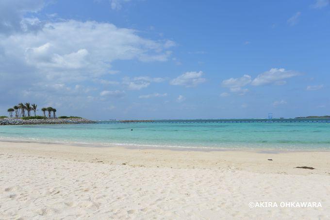 綺麗なエメラルドビーチ