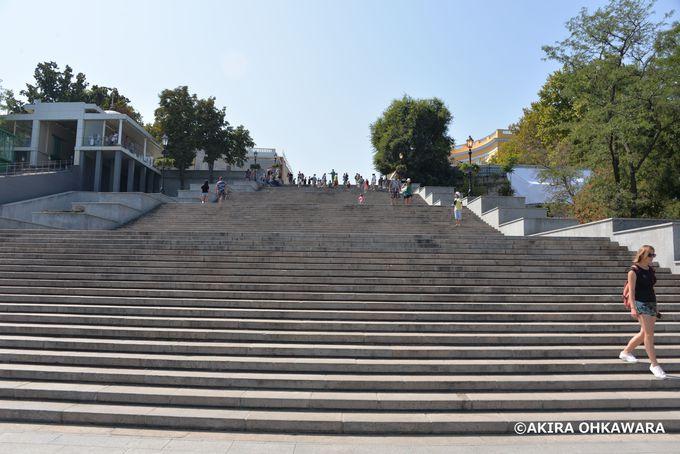 ソ連映画「戦艦ポチョムキン」の撮影地!ポチョムキンの階段