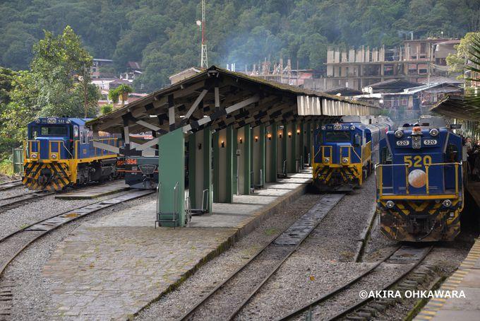 ペルーレイルやインカレイルの鉄道車両!鉄道マニアには堪らない