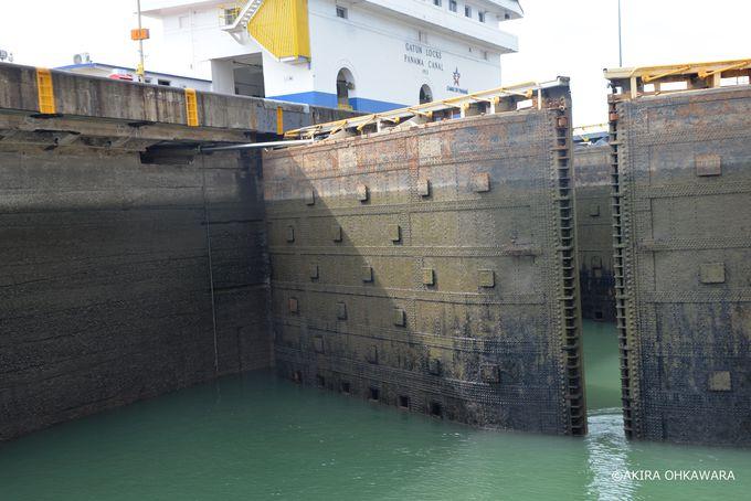 3つの水門