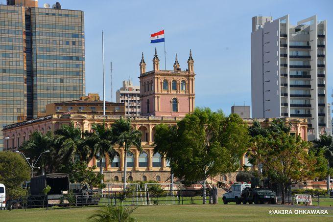 外観美しい政府宮殿