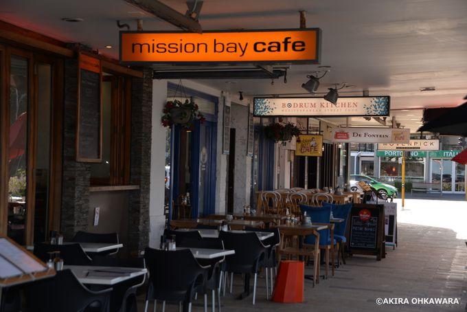 オークランドで人気の海「ミッションベイ」