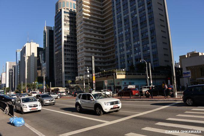 金融街の中心地「パウリスタ大通り」