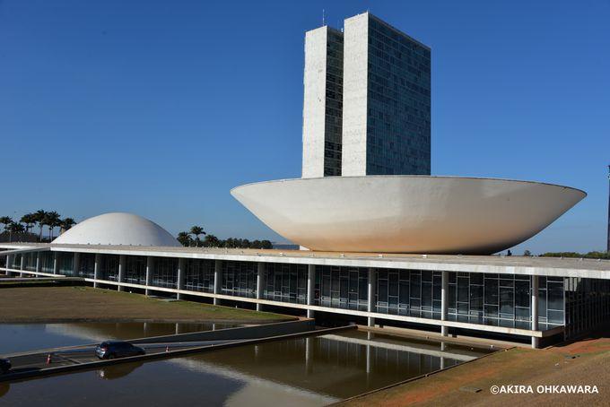 三権広場と国会議事堂