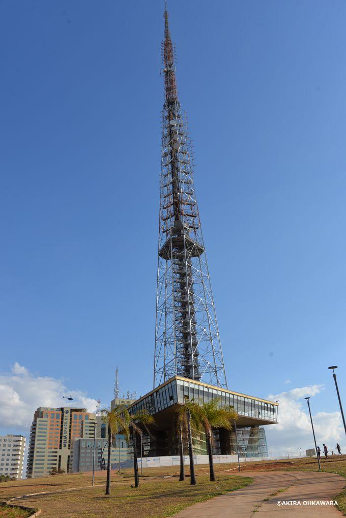 高さ224メートルのテレビ塔