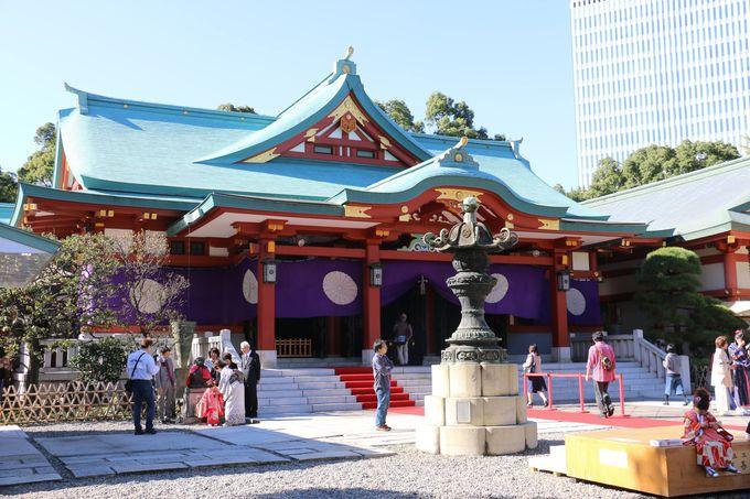 江戸山王大権現「日枝神社」との対面