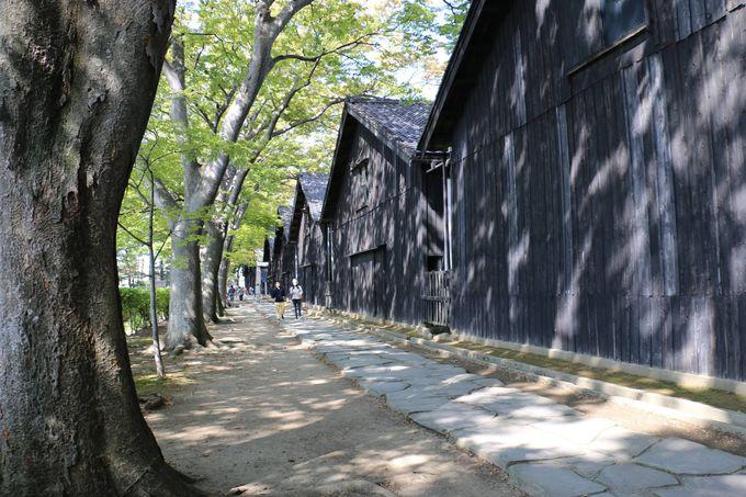 1.山居倉庫(さんきょそうこ)