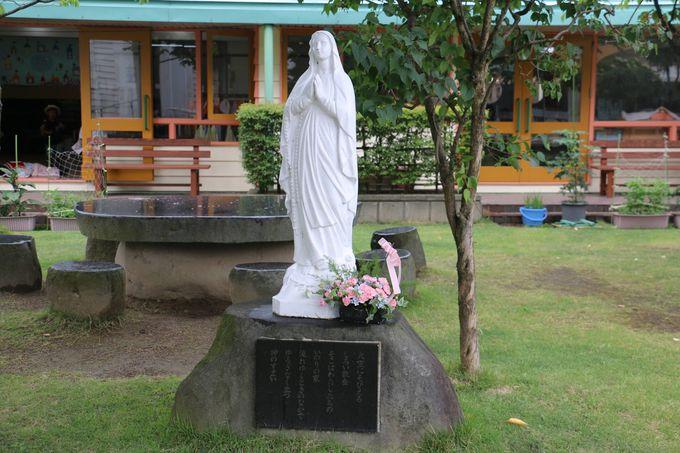 開かれた重要文化財の教会