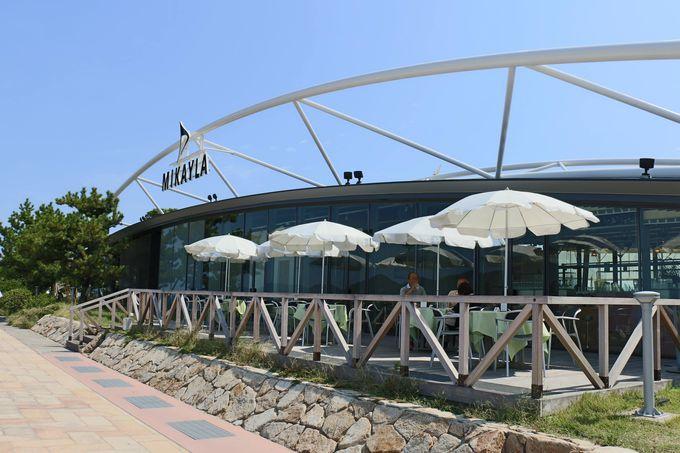 高松港のレストハウス—「MIKAYLA  / ミケイラ」でゆっくりと