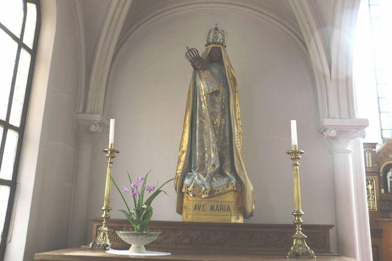 日本で唯一の「黒い聖母マリア」を抱く山形県「カトリック鶴岡教会天主堂」