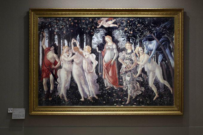 イタリア フィレンツェ ウフィツィ美術館を体験する