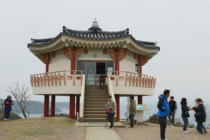 釜山を望む韓国展望所