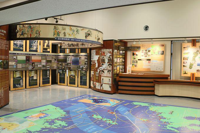 対馬の情報発信基地「観光情報館 ふれあい処つしま」