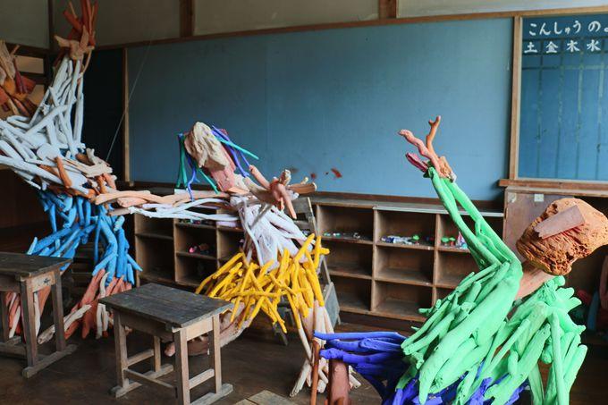 最後の在校生たちの教室へ
