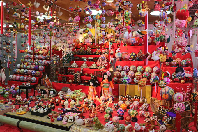 柳川市観光案内所の圧巻の大ステージ