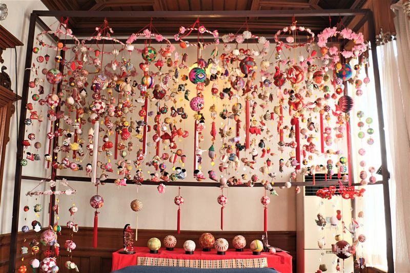 柳川藩藩主の御屋敷で「さげもん」めぐり