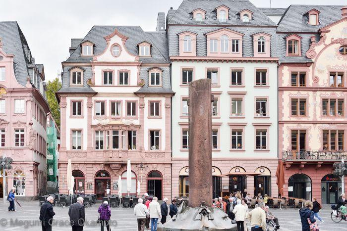 教会周辺にも、中世ドイツらしい見所が沢山