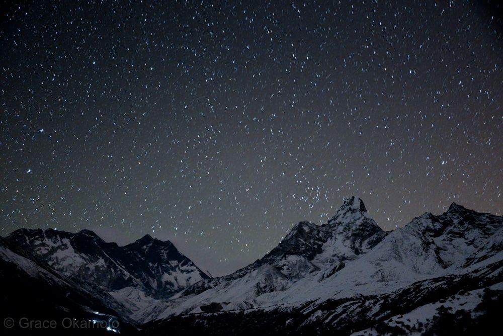 エベレストに降る星空を、その目で