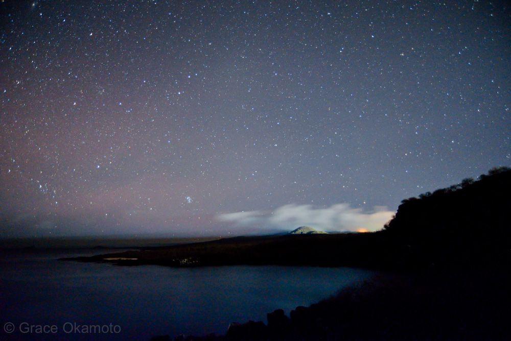 忘れずに見上げてほしい!ガラパゴスの美しい星空
