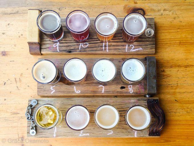12種類のクラフト・ビールお試しセットが壮観!「Kaschk」