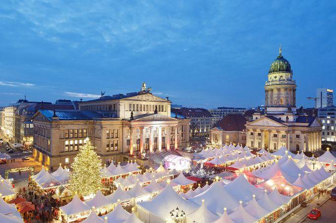 ドイツで最も美しい!?「ジャンダルメン広場」でのクリスマス
