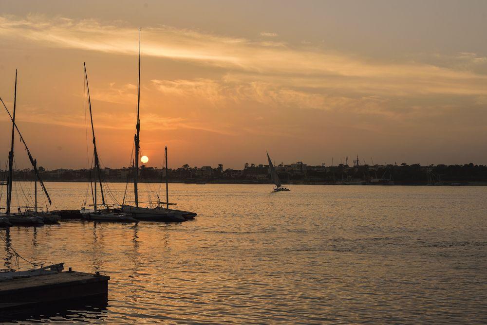 「なにもしない」贅沢を。ナイル川に沈む夕陽は必見