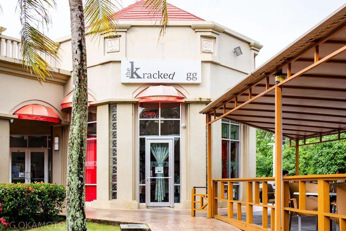 #パンケーキ:グアムにしかない「The Kracked Egg」へ