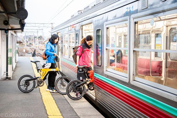 電動アシストや電車を活用!赤城山サイクリング