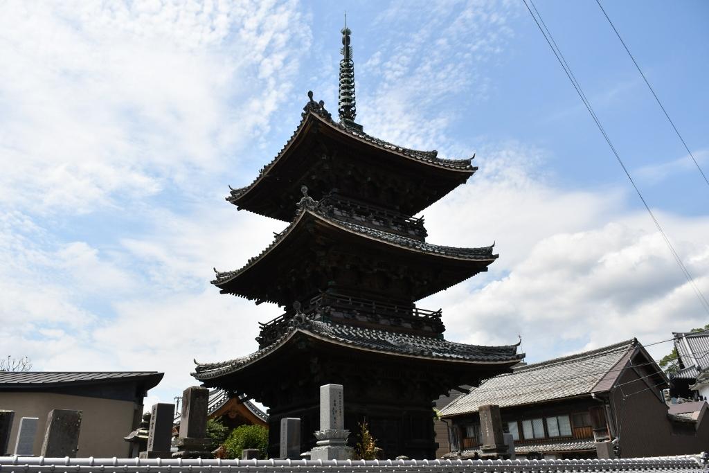 江戸時代の名残を残す「二王座歴史の道」