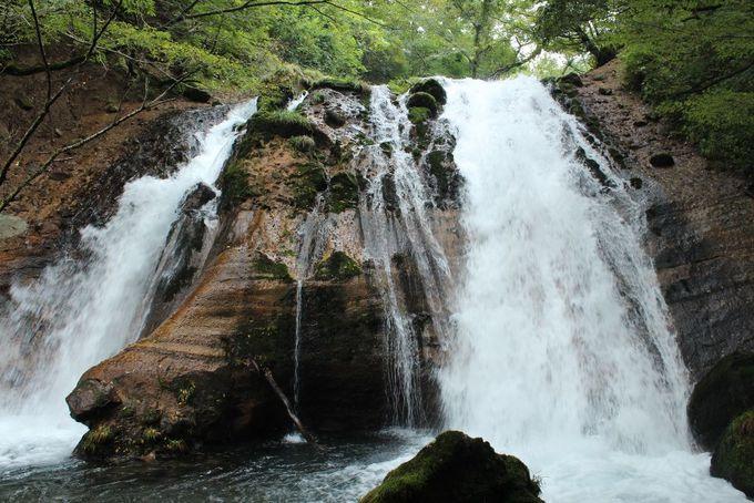 マイナスイオンで癒されるパワースポット 名水の滝