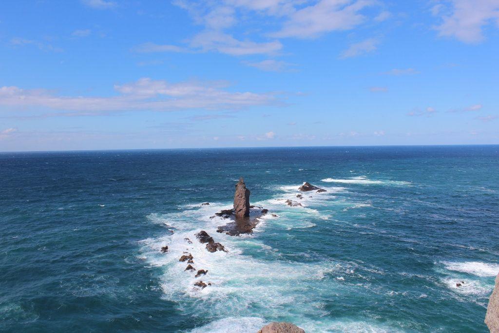 「神威岩」になったチャレンカ