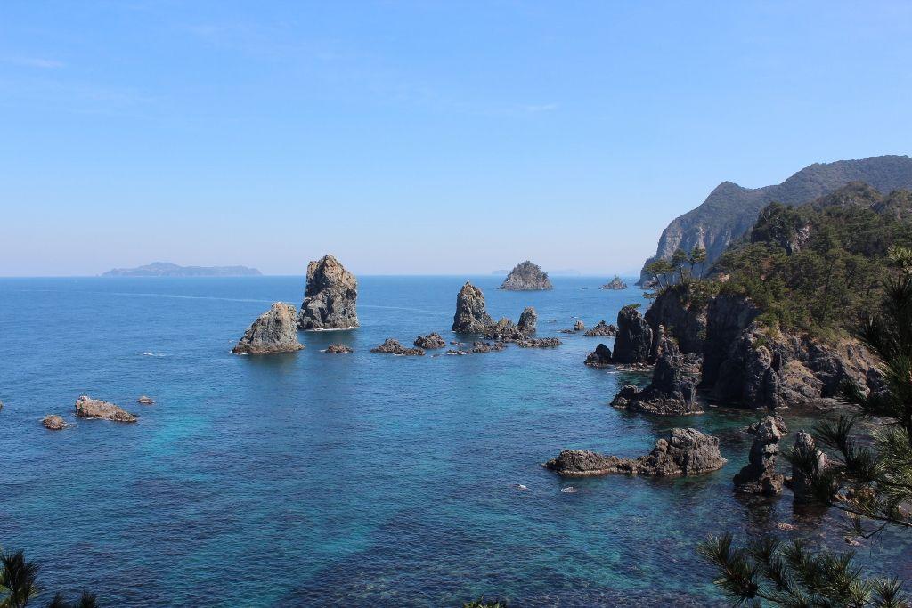 海上アルプスと呼ばれる「青海島」