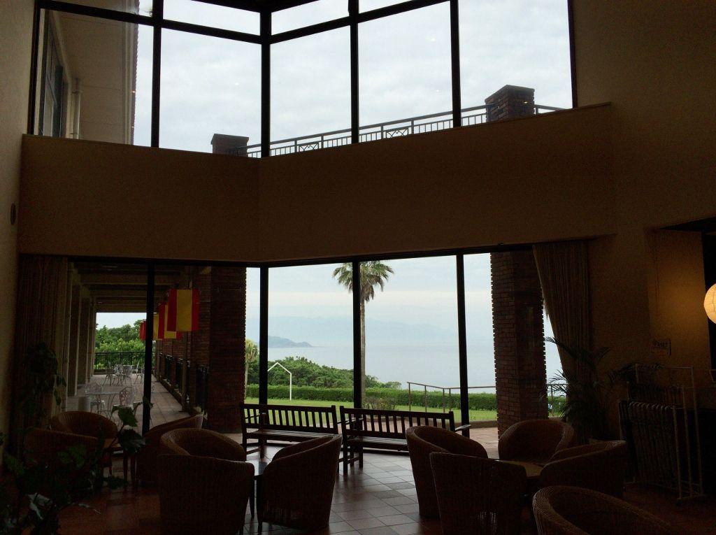 館内どこからも広がる素晴らしい眺め