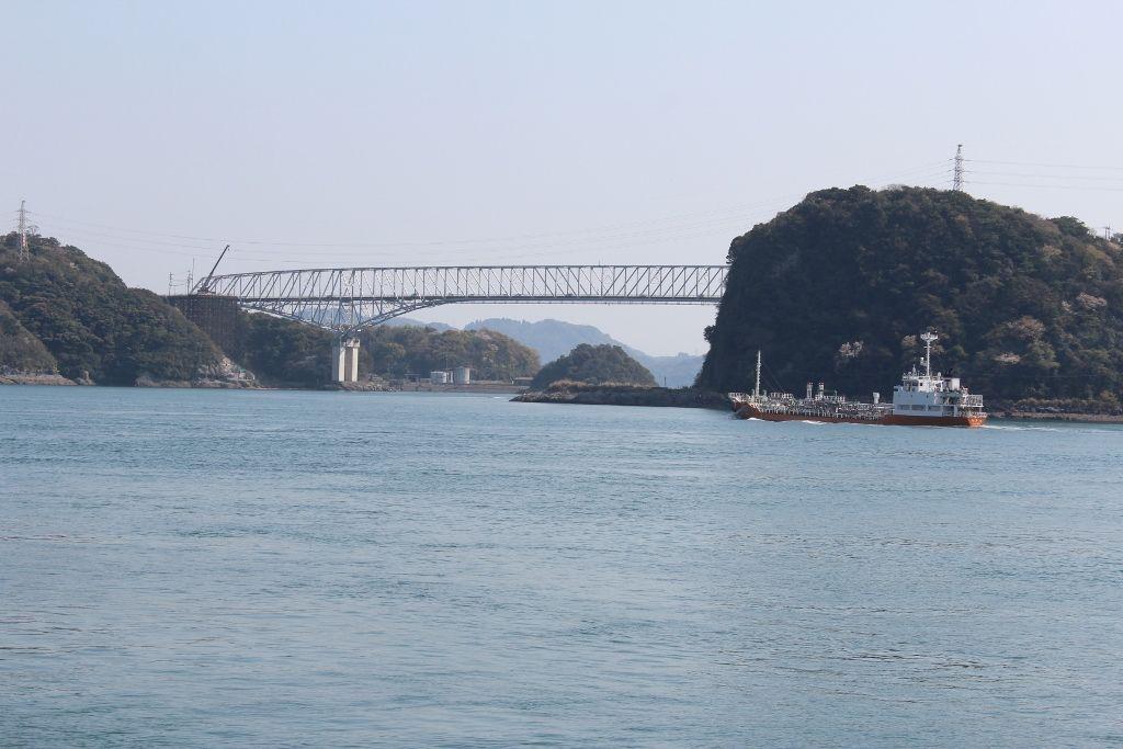 九州本土と天草諸島を結ぶ最初の橋「1号橋(天門橋)」
