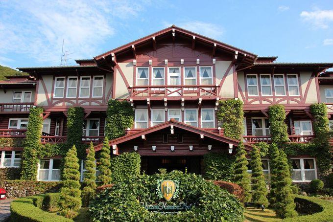 スイスのシャレーを思わせるノスタルジックな雲仙観光ホテル