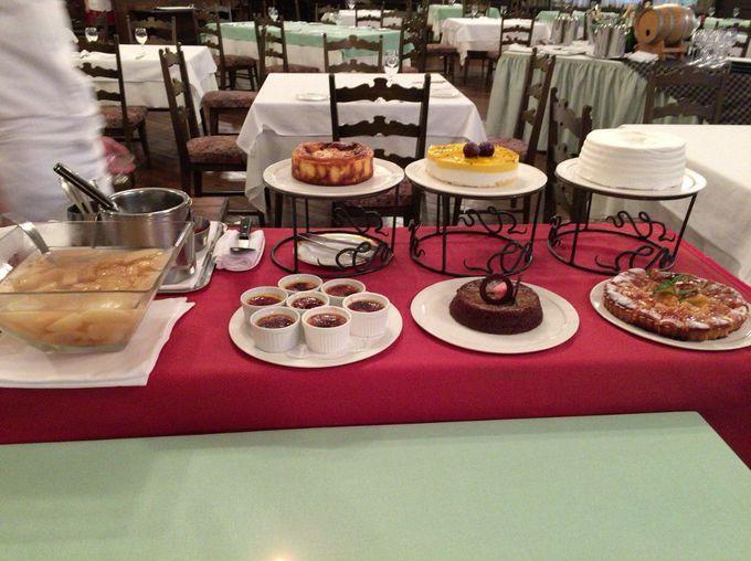 8種類のデザートが嬉しいフレンチのディナーコース