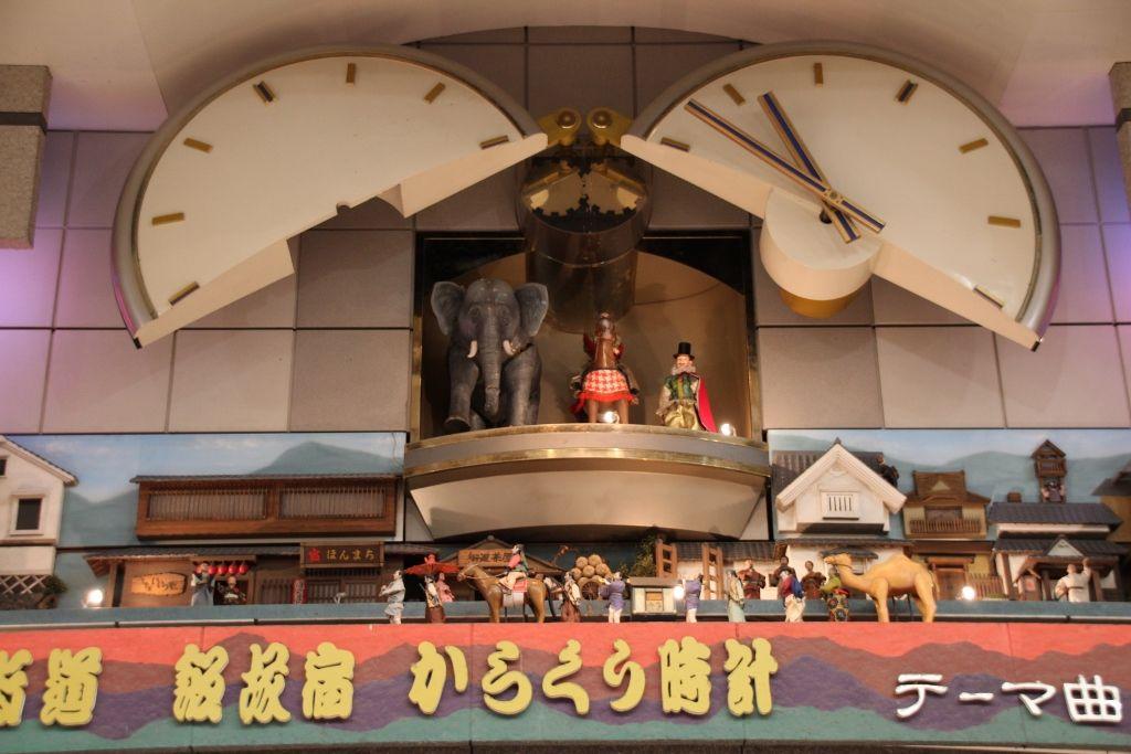 長崎街道「飯塚宿」の繁栄を物語る「からくり時計」