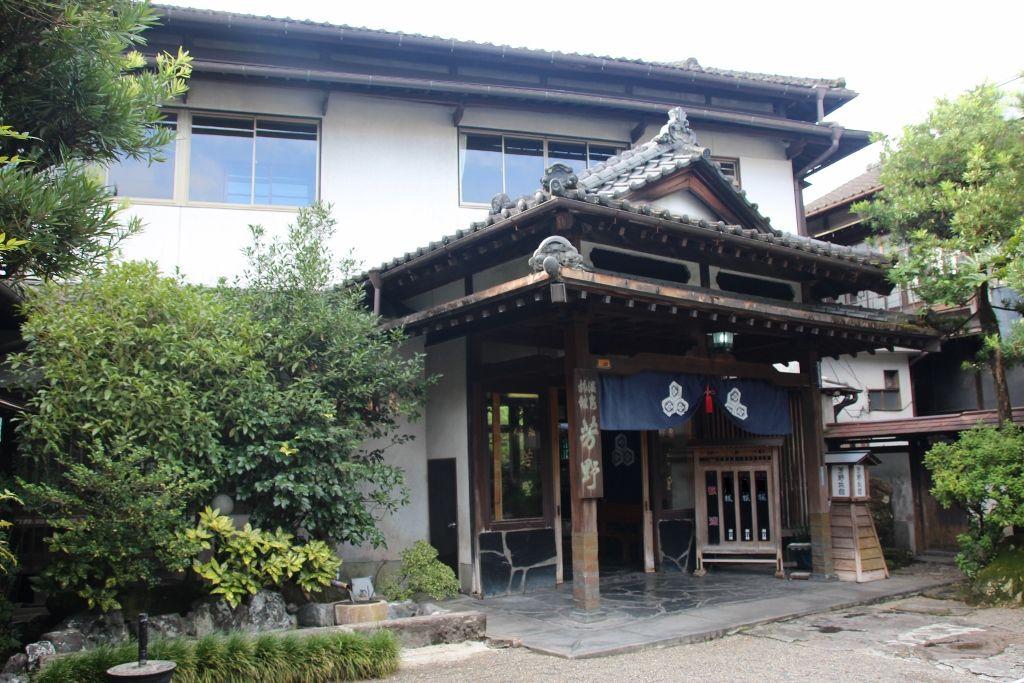 建物全体に風水を取り入れて建てられた芳野旅館