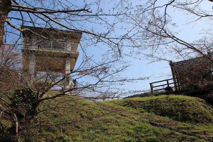 佐賀平野が一望できる「千葉城跡展望台」