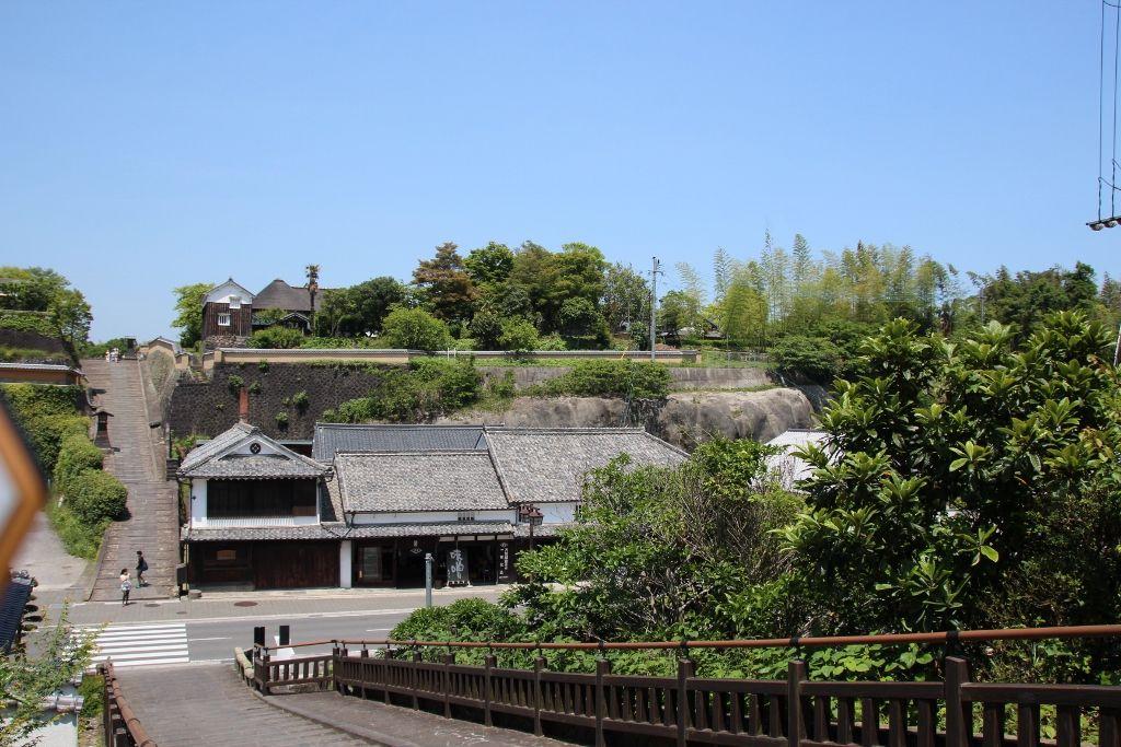 酢屋の坂と対になっていて「サンドイッチ型城下町」が納得できる志保屋の坂