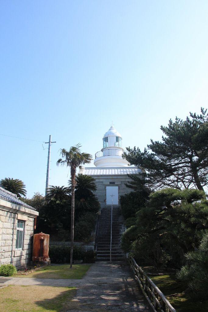 瀬戸内海を一望できる姫島灯台