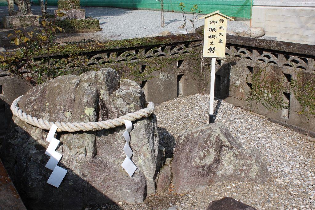 神武天皇が船出をした場所に建つ「立磐神社」