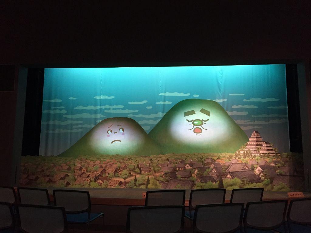 立体紙芝居による「島原大変肥後迷惑」